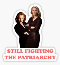Gillian Anderson as #StrongFemaleCharacter Sticker