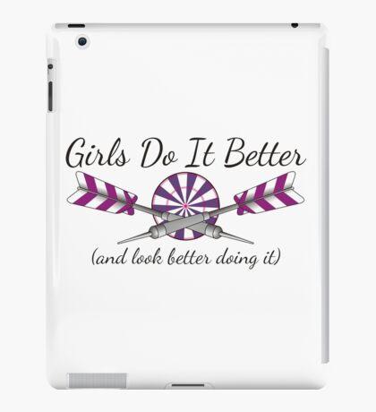 Girls Do It Better Darts Shirt iPad Case/Skin