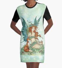 Fox Friends Graphic T-Shirt Dress