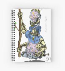 orpheani technoshaman Spiral Notebook