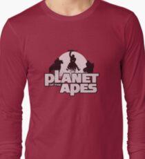 Apes on Horseback Long Sleeve T-Shirt