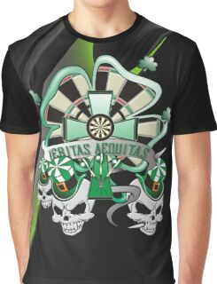 Veritas Aequitas Darts Shirt Graphic T-Shirt