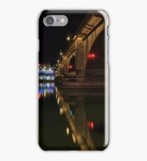 Reflections At London Bridge iPhone Case/Skin