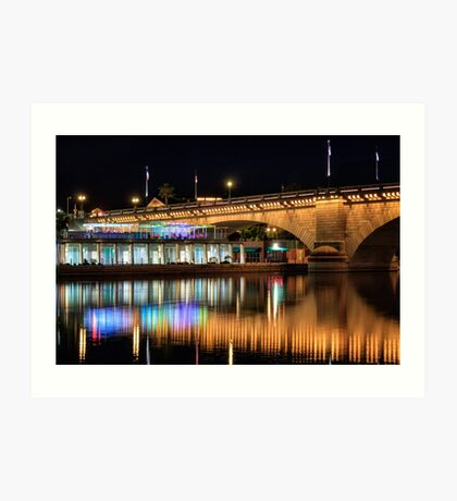 Havasu At Night Art Print
