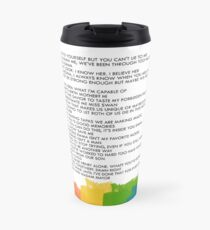 Travel Mug - SwanQueen Quotes Travel Mug