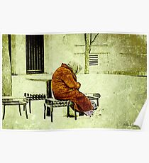 """""""Old. Cold. Alone.""""... prints and products Poster"""