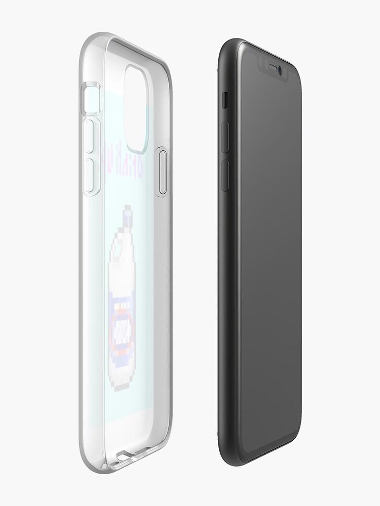 Coque iPhone «Gulp Gulp», par qlmao