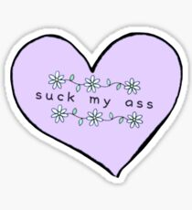Suck My Ass Sticker