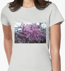 Blossoms.  Womens Fitted T-Shirt