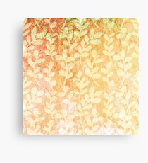 Grunge floral background. Vector texture background. Floral pattern. Canvas Print