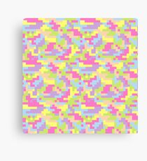 Pixel Barf Canvas Print