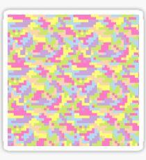 Pixel Barf Sticker