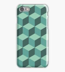 Geometric vector background iPhone Case/Skin