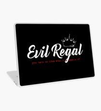 Evil Regal - White Laptop Skin
