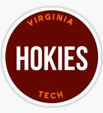 Virginia Tech - Style 20 Sticker