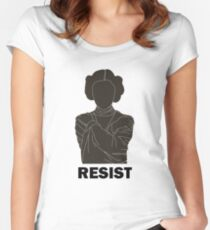 Princess Leia - Resist Women's Fitted Scoop T-Shirt