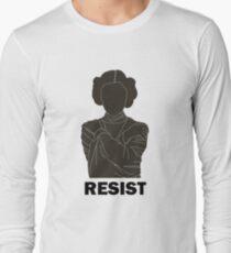 Princess Leia - Resist Long Sleeve T-Shirt