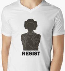 Princess Leia - Resist Men's V-Neck T-Shirt