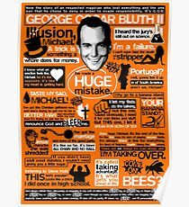 The Wise Words of GOB Poster