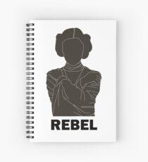 Princess Leia - Rebel Spiral Notebook