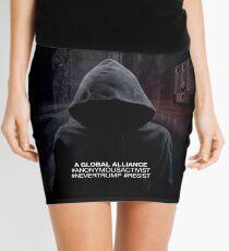 Graphic novel style classic Mini Skirt