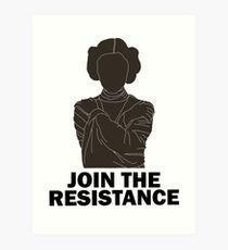 Princess Leia - Join the Resistance Art Print