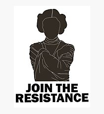 Princess Leia - Join the Resistance Photographic Print