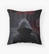 Graphic novel style classic Throw Pillow