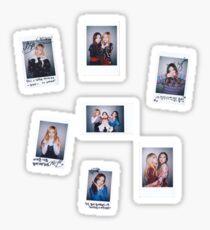 Black Pink Polaroid Set! - PWF era Sticker