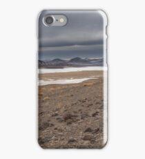 Winter in the Nevada Desert  iPhone Case/Skin
