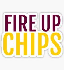 Fire Up Chips Sticker