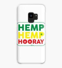Hemp Hemp Hooray Rasta Rastafarian White Case/Skin for Samsung Galaxy