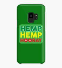 Hemp Hemp Hooray Rasta Rastafarian Green Case/Skin for Samsung Galaxy