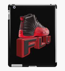 flu game jordans iPad Case/Skin