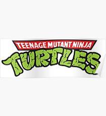 Teenage Mutant Ninja Turtles Oldschool Poster