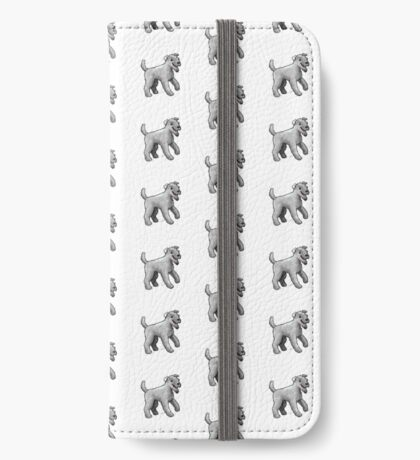 Carrie Blue Terrier iPhone Wallet