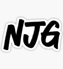 NJG Nice Jewish Girl stickers Sticker