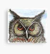 Anni's Owl Metal Print