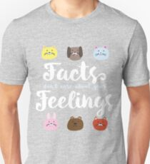 """Ben Shapiro """"Facts Don't Care About Your Feelings"""" T-Shirt"""