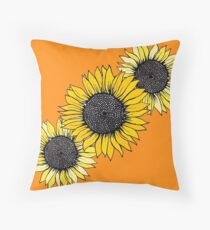 Flowers for my Mom 3 Throw Pillow