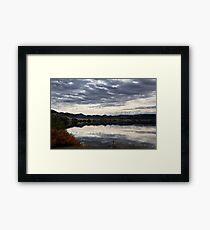 Hauser Lake Morning Framed Print