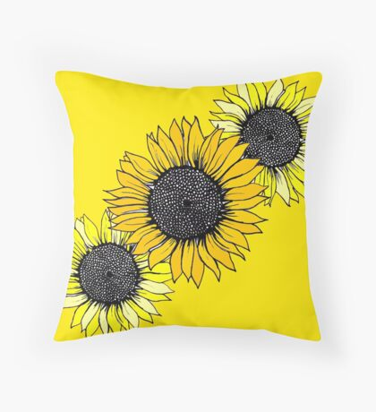 Flowers for my Mom 2 Throw Pillow