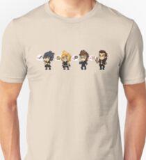 Final Fantasy Bros Pixel Love Unisex T-Shirt