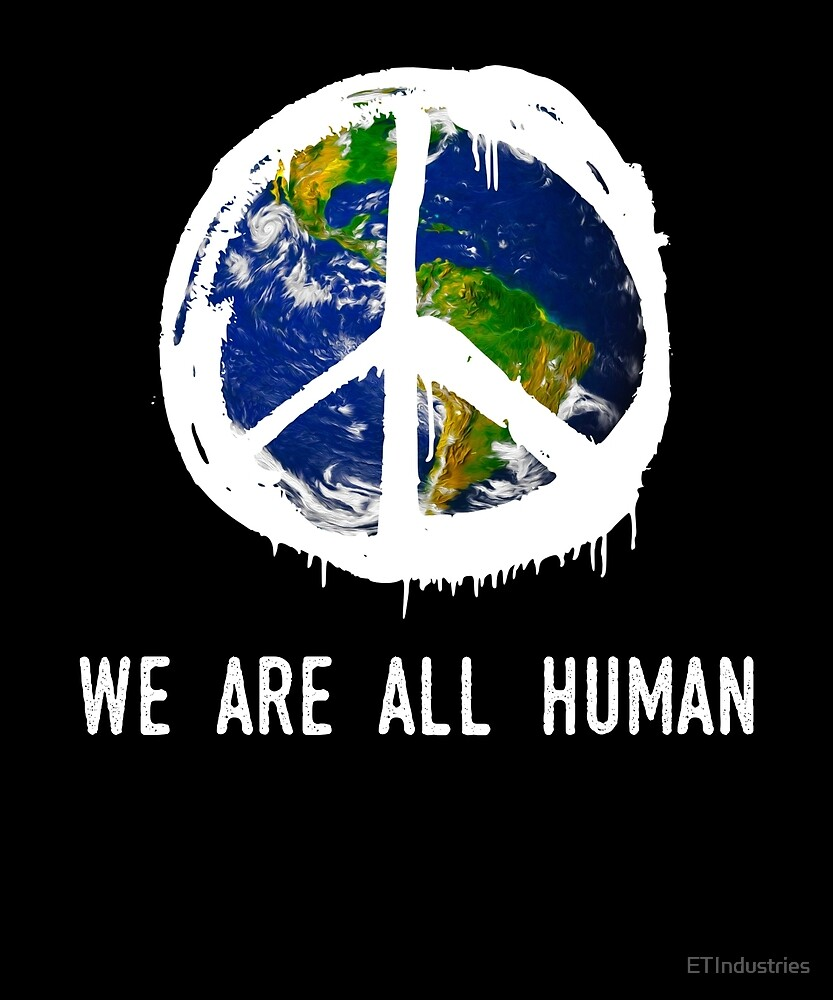 "Anti-trump #nomuslimban Resist ""We Are All Human  by ETIndustries"