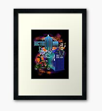Doctor Moo and Clara Framed Print