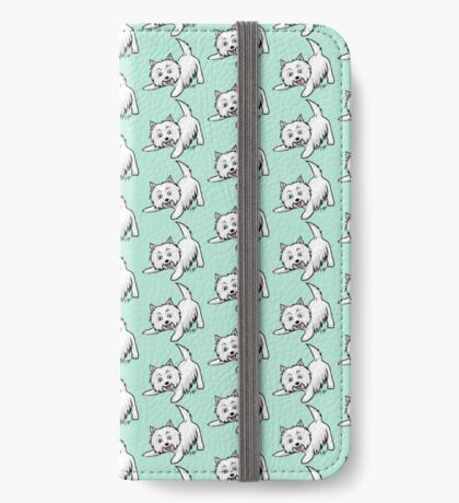 West Highland Terrier iPhone Wallet