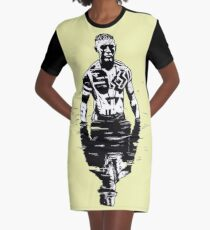 Taboo Shadow on the water Graphic T-Shirt Dress