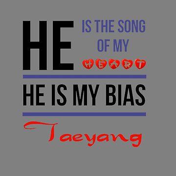 ER IST MEIN BIAS Taeyang - Grau von CynthiaAd
