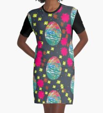 Dragon eggs pop art Graphic T-Shirt Dress