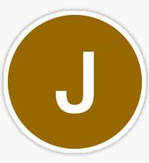 J Train Official Logo Sticker